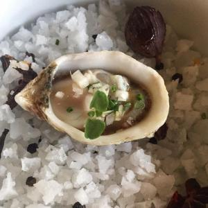 Kushi Oyster from Pono Soul Farm Kitchen